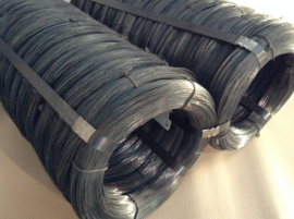 Black Annealed Orbit Coil Small